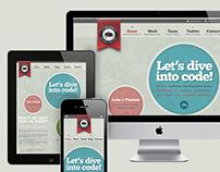 code quest website redesign