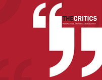 The Critics Lecture Series Brochure