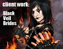 Client work : Black Veil Brides 2011