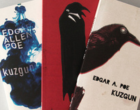 EDGAR ALLEN POE  book covers