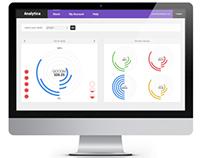 Analytica Web App Homepage