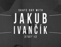 Skate day with Jakub Ivančík