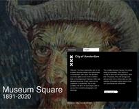 Museum Square - City of Amsterdam - Website