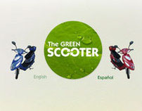 The Green Scooter | Web