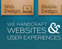 Blueye Creative Site Redesign