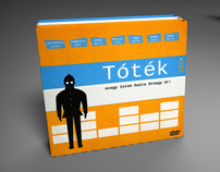 Project Örkény | DVD boxes