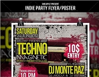Indie Party Flyer / Poster