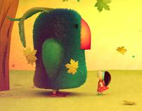 Happy (unpublished) world Children's illustration