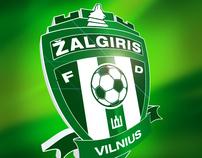 FC Vilniaus Žalgiris logo redesign