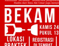 BEKAM GRATIS poster