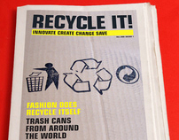 Recycle It! Monthly Newspaper