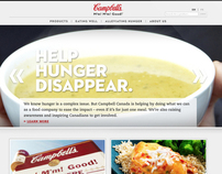 Campbell's Corporate Website Redesign