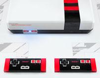 Old 16-bit NES redesigned