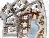 Urban project: masterplan for Siekierki district