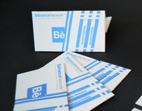 Behance Pull and Push Visiting Card