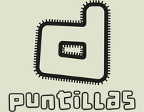 d puntillas, a set of 6 combinable typefaces.