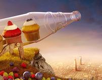 Vimto Cupcakes Ramadan