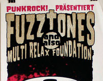 The Fuzztones - Screenprinted Gigposter