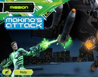 Max Steel - Makino´s attack