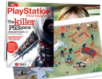 Art Direction & Design: Official PlayStation Mag