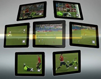 EURO2012 Tablet App promo