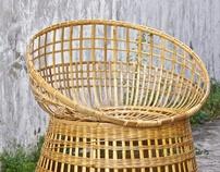 Raw 'Kombong' Chair