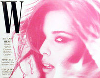 W Magazine Re-Design
