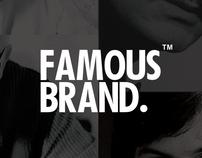 Famos brand. / branding