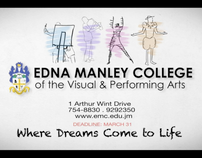 Edna Manley College Admissions Tv Spot
