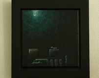 Paintings  (Acrylics on linnen)
