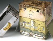 Julies Cheese Biscuits Novelty Packaging Concept