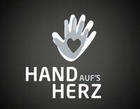 Corporate Identity. HandAufsHerz.