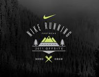 Nike Running Event Materials