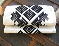 Table Runner Screen Print & Pattern Design