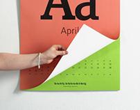 Easy Speaking calendar