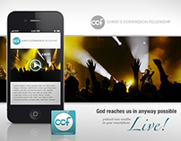 Christ Commission Fellowship App Design Pitch