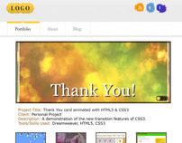 Portfolio Site Mockup