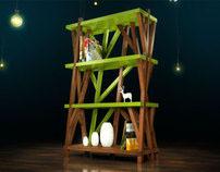 Treefort Shelf concept