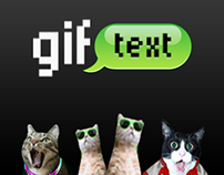 Gif Text App for the iPhone