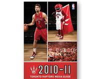 Toronto Raptors 2010-2011 Media Guide