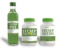 HempFoods Australia - labels
