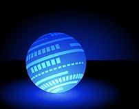 Glowing Ball Design
