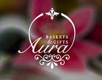 Aura Baskets Branding