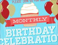 Monthly Birthday Celebration