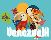 Mapa turistico Venezuela V.1