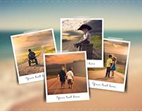 12 Blur Photo Frame Templates – 4 Styles