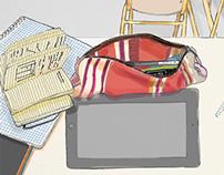 Ipad drawings // Digital painting - 2014