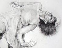Dance drawings - series 3