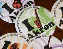 City of Akron branding