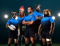Orangina shaken by rugbymen